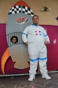 Reggie the Astronaut!