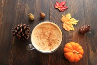 The perfect blend of coffee and a splendid stirring of pumpkin and just the right amount of sweet cinnamon goodness! Such an extraordinary high-quality sip! This is the Pumpkin Spice Latte at Compass!